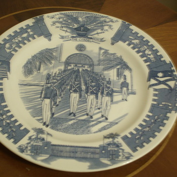 Rare collector/military plate i found - China and Dinnerware