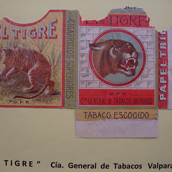 Animals whose images are part of a story - Tobacciana