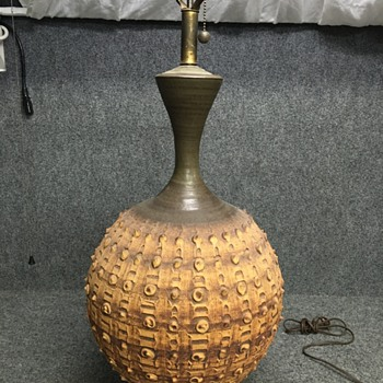 Who's the maker? Swap meet find - Lamps