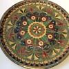Vintage Enamel brass plate ?