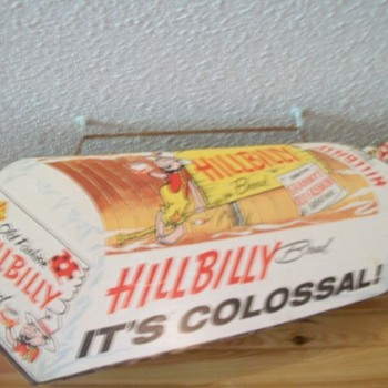 Hillbilly Bread sign