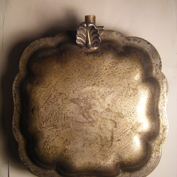 ANCIENT BISCUIT WARMER? - Silver