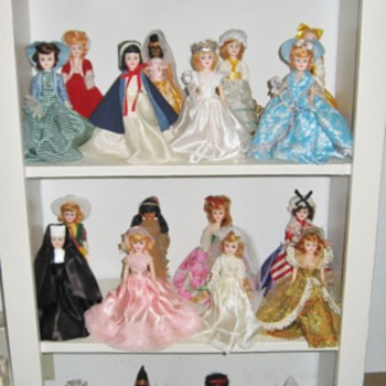 "My Blue Bonnet Margarine ""Storybook Dolls"" dolls!"