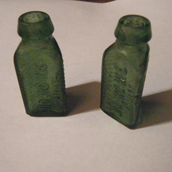 3 in one oil sample bottles - Bottles