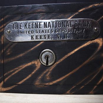 "Promotional Advertising Steel bank""The Keene national Bank,Keene,NewHampshire no 1"