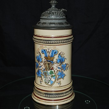 The Blue Singer Student Association Stein (Circa 1892)