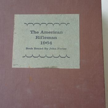 Amer. Rifleman 1964 bound edition