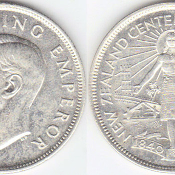 1940 NZ Halfcrown