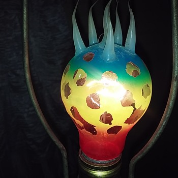 Lightbulb Art! - Art Glass
