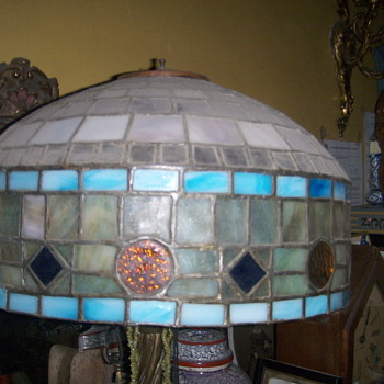 Stained glass lamp? - Lamps
