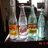 Old Soda Bottles...Royal Crown...Pepsi-Cola...CocaCola...From The 20's To The 50's