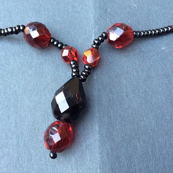 Vintage stone necklace  - Fine Jewelry