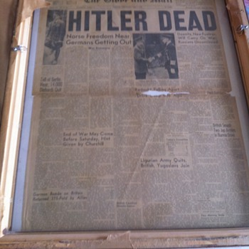 old newspaper - Paper