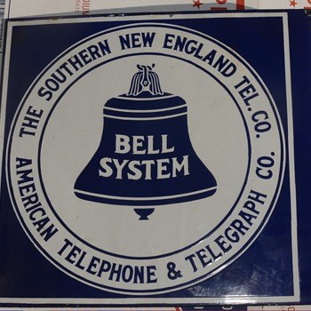 """S.N.E.T. /Southern CA """"hybrid"""" sign - Telephones"""