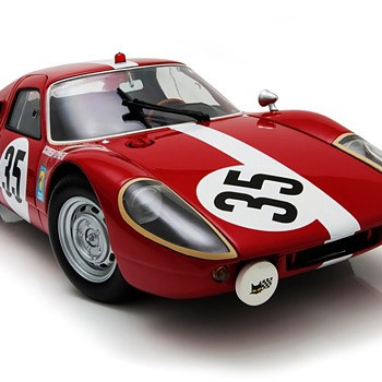 1964 Porsche 904 LeMans #35 1/18 Scale by Minichamps - Model Cars