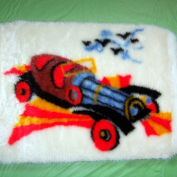 Chitty Chitty Bang Bang rug - Rugs and Textiles