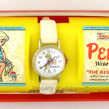 "Disney ""Penny"" Error/Missprint Watch & Box from 'The Rescuers"" - Wristwatches"