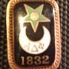 Alpha Delta Phi fraternity pin