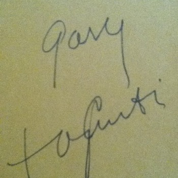 Autographed Tony Curtis Autobiography - Books