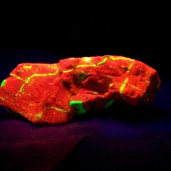 Calcite Willemite and Franklinite