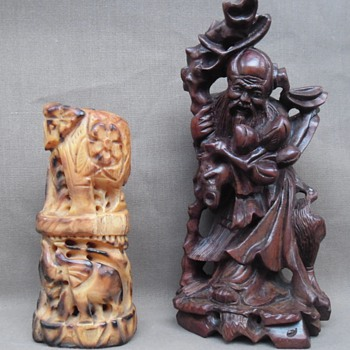 Early Chinese Netsuke and sculpture - Asian