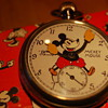 "1934 ""Services"" Mickey Mouse English Pocketwatch Prototype?"
