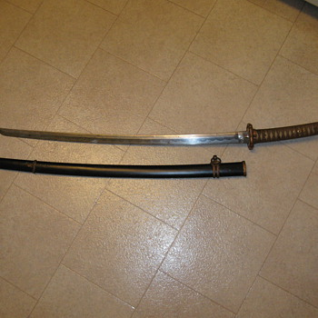 WWII Sword from Japan