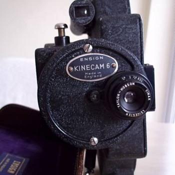 Ensign Kinecam 6 1933 16mm camera