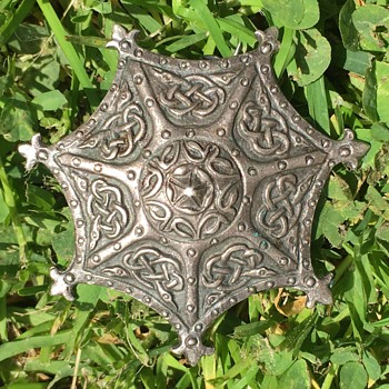 Sterling Silver Pin Medieval  - Fine Jewelry