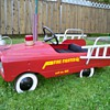 1960's amf pedal car fire truck