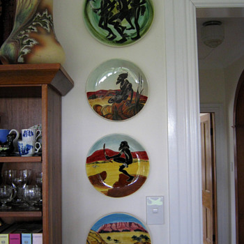 AND MORE MARTIN BOYD PLATES - Pottery