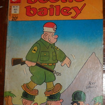 ALL NEW Beetle Bailey Vol. 5 #93 October, 1972 and The Incredible Hulk: Crushed by The Constrictor! Vol. 1 #212 June, 1977