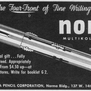 1951 - Norma Color Pencil Advertisement - Advertising