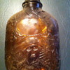 historical theme amber flask
