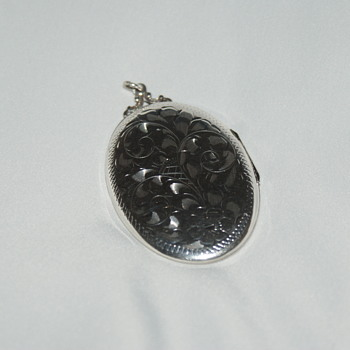 Very Large Birks Vintage Locket