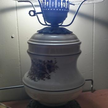 Antique Glass Bulb Lamp - Lamps