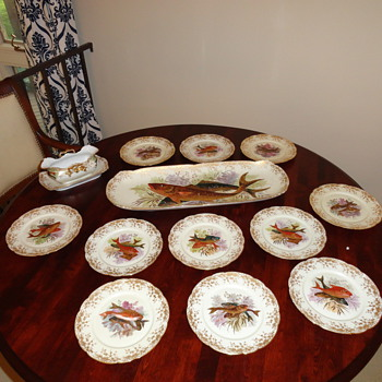 Limoges Fish Service - China and Dinnerware