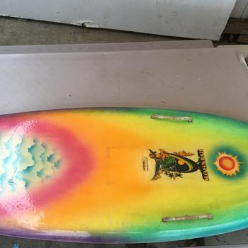 Vintage Rainbow Kneeboard