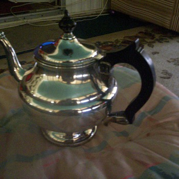 EPNS A1 Crosby Tea Kettle - Sterling Silver