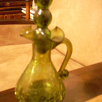 Crack glass Decanter