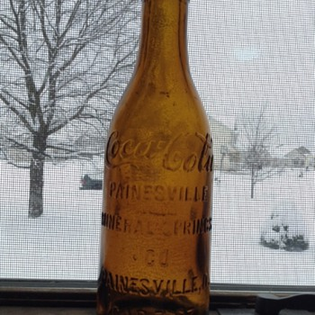 Painesville, Ohio Straight Sided Coca-Cola Bottle