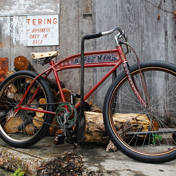 1936 SPEEDKING BICYCLE    by DoubleL  - Outdoor Sports