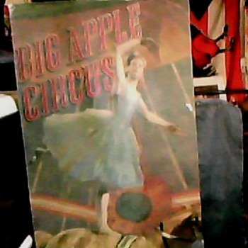 BIG APPLE CIRCUS SPRING/SUMMER TOUR 1991 - Paper