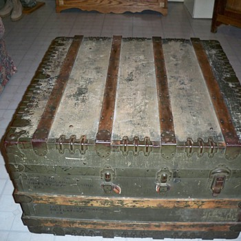 Army Trunk - Furniture