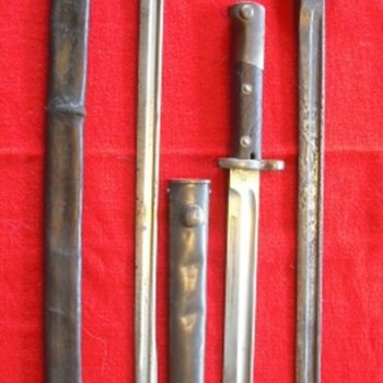 Three Knife Bayonets
