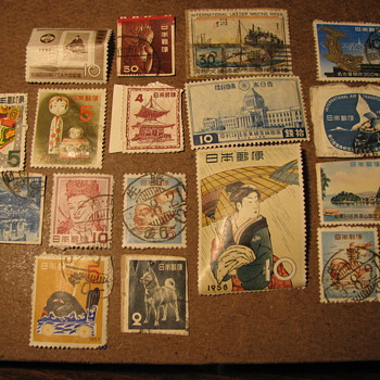 Japanese Postage Stamps - Stamps