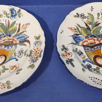 Handpainted Plates - Pottery