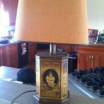 Colmans Mustard Lamp