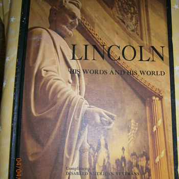 President Lincoln - Books