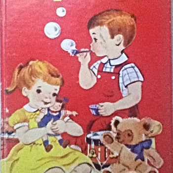 Vintage children's book, My Toys